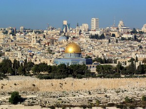 Mt of Olives - View of the Old City